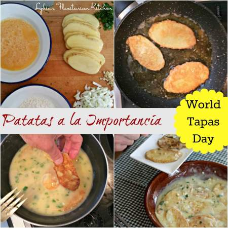 Patatas a la Importancia {World Tapas Day!}