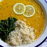Lemony Red Lentil and Onion Soup ~ Vegan, but Omnivore Friendly ~ Lydia's Flexitarian Kitchen
