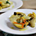 Artichokes with Orange and Capers ~ Lydia's Flexitarian Kitchen