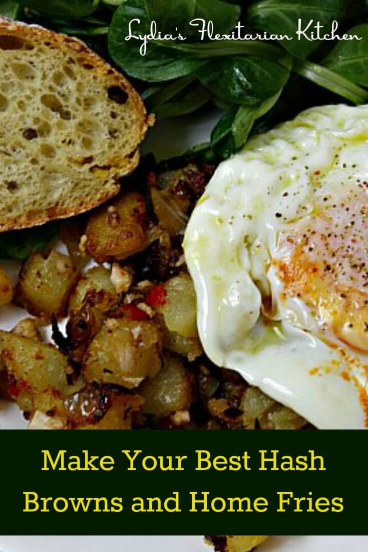 Don't you hate when your fried potatoes break up in the pan instead of getting lovely and crispy? Here are a few tips to help make your best hash browns ever!
