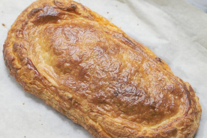 Empanada: the stuffed pastry of Spain ~ #CaminoFlavors ~ Lydia's Flexitarian Kitchen