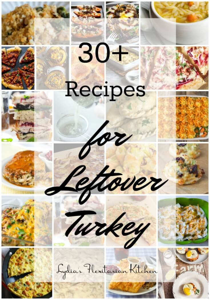 Overwhelmed by the endless turkey leftovers? Here are more than 30 ideas for using them up before Santa arrives.