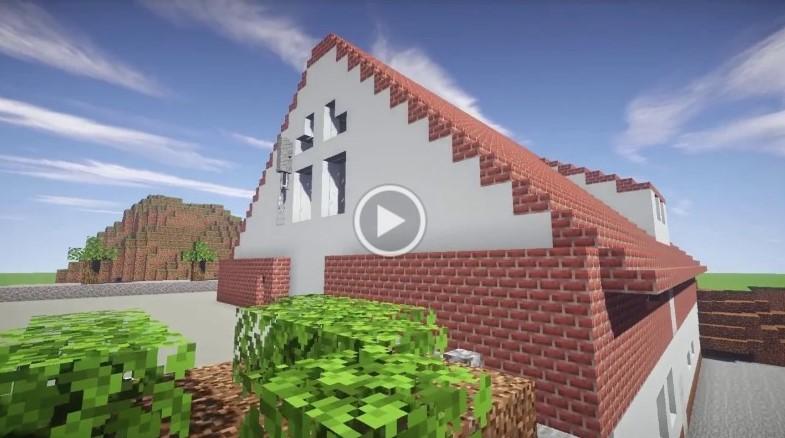 Minecraft-versjonen av Lye forsamlingshus