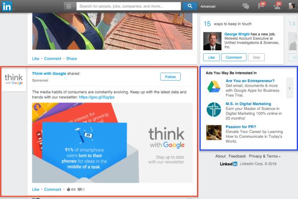 Linkedin Ad Marketing