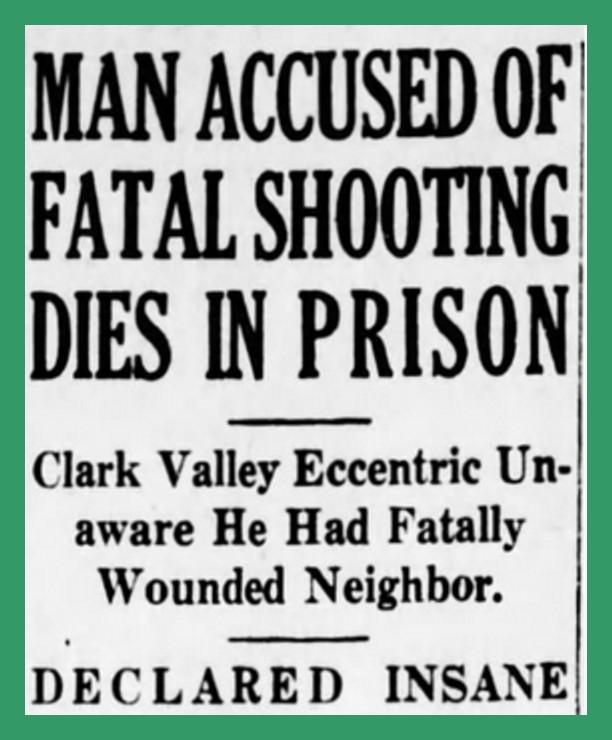 The Poison Toe Murder, 1937 (8) – Lykens Valley: History