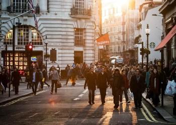 Gatebilde fra London i 2012. FOTO: Public domain (CC0).