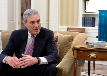 Robert Mueller at The White House. Wikimedia Commons. Author: Pete Souza
