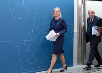 Finansminister Magdalena Andersson fra Socialdemokraterna. (Foto: Finance Ministry of Sweden).