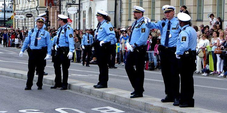 SVENSK POLITI. Foto: Public Domain/Poxnar