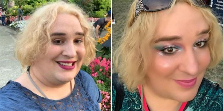 SKJØNNHET: Den canadiske «transkvinnen» Jessica Yaniv (32) prøvde å saksøke 13 skjønnhetssalonger, fordi de ikke ville vokse pikken og ballene hans. FOTO: Privat.