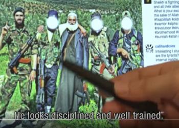 En jihadist som var utdannet i det nederlanske forsvaret dro til Syria for å hjelpe terrorgruppen IS. Det hele er endel av en strategisk politikk fra terrorgruppene og foregår også i Norge. (Skjermbilde/Youtube)