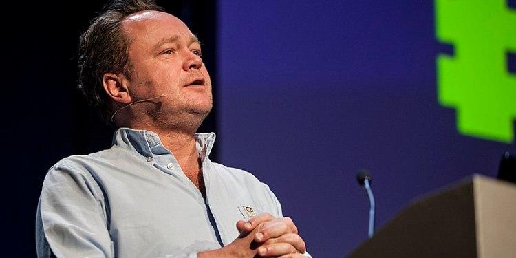 Fredrik Græsvik. Foto: Jarle H. Moe /Nordiske Mediedager 2013 / CC BY-SA 2.0