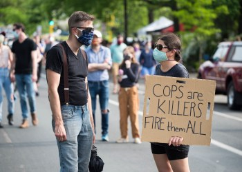 (Foto: Fibonacci Blue / Protest against police violence - Justice for George Floyd / (CC BY 2.0))