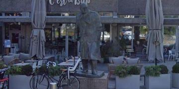 Churchill statue, Solli Plass, Oslo. (Google Maps)