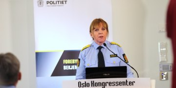 NY KRIPOS-SJEF, KRISTIN KVIGNE: Pressekonferanse Straffesak 15 januar 2014. (Foto: Kåre M. Hansen / (CC BY-ND 2.0))