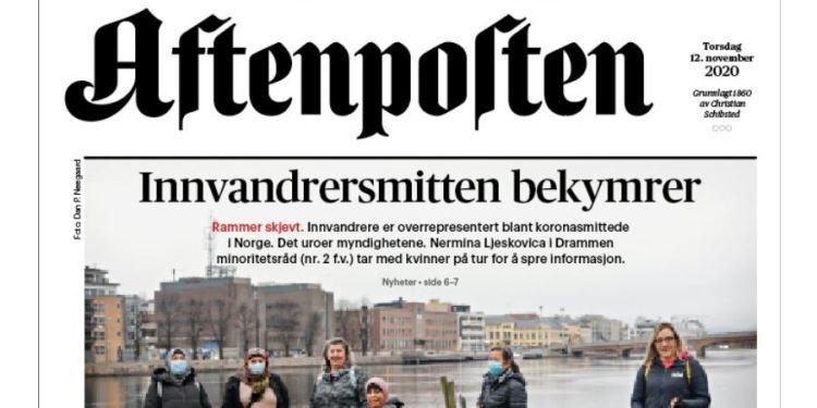 (Skjermbilde / Aftenposten Twitter).