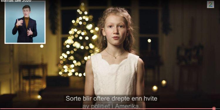 (Skjermbilde / Barnas Tale 2020 / TV2 Sumo).