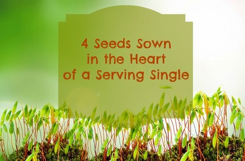 4 Seeds Sown in the Heart of a Serving Single