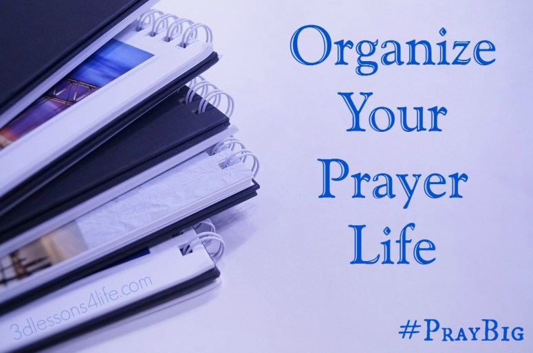 Organize Your Prayer Life