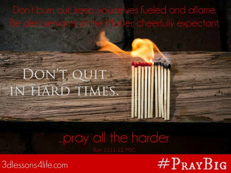 Pray All the Harder