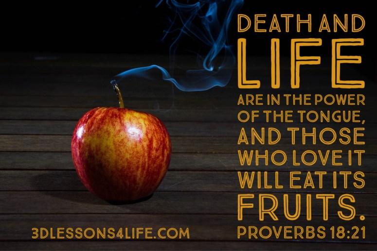 Speak Life | 3dlessons4life.com