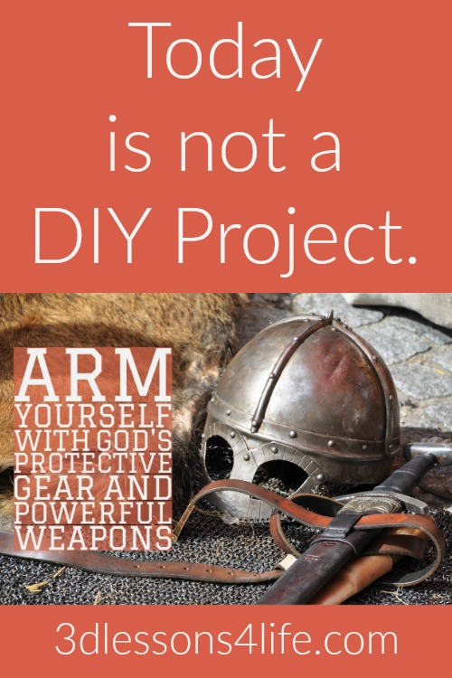 Today is Never a DIY Project | 3dlessons4life.com