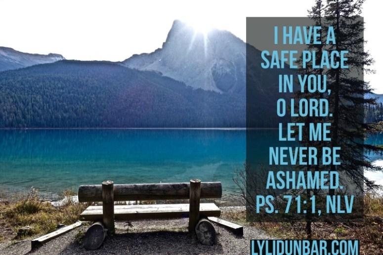 Tell Shame You Have a Savior | lylidunbar.com