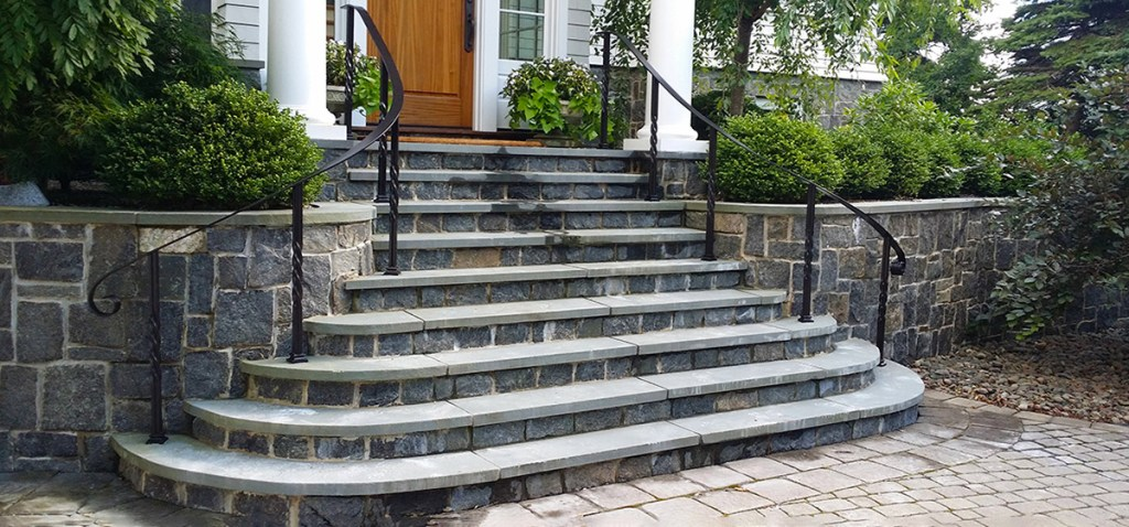 Railings and stairs built by Lyman-Morse Fabrication are found in the finest homes and buildings