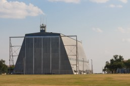 The old balloon hanger at Ft Sill. My dad built Pershing II trainers there at one time and we had lots of Scout-o-ramas around this thing when I was a boy scout.