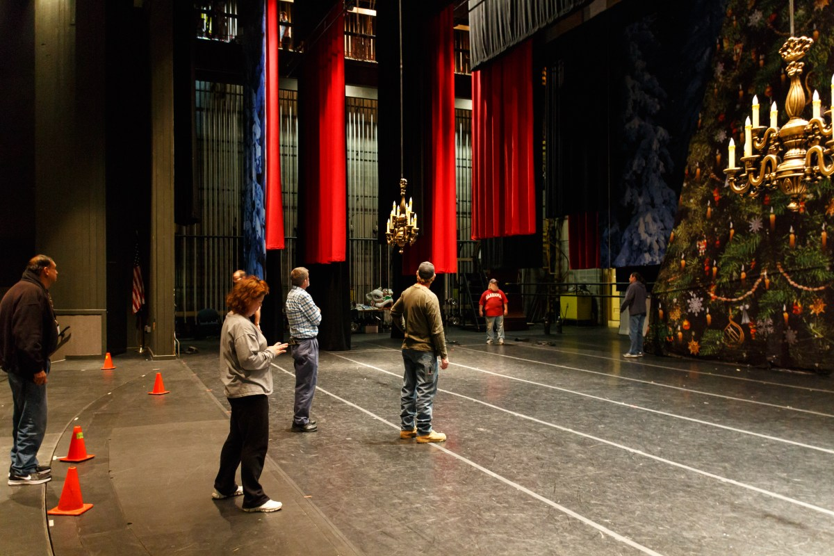 The Nutcracker Behind the Scenes