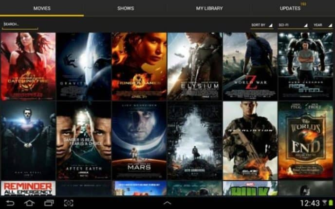 movie time app android