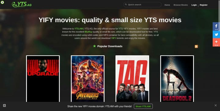 streaming free movies 2019