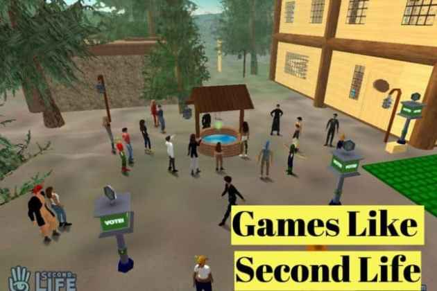 15 Games Like Second Life  2018    LyncConf