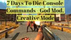 7 days to die admin commands