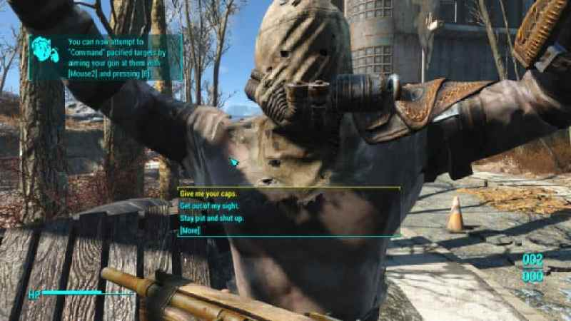 Fallout 4 intimidation mod