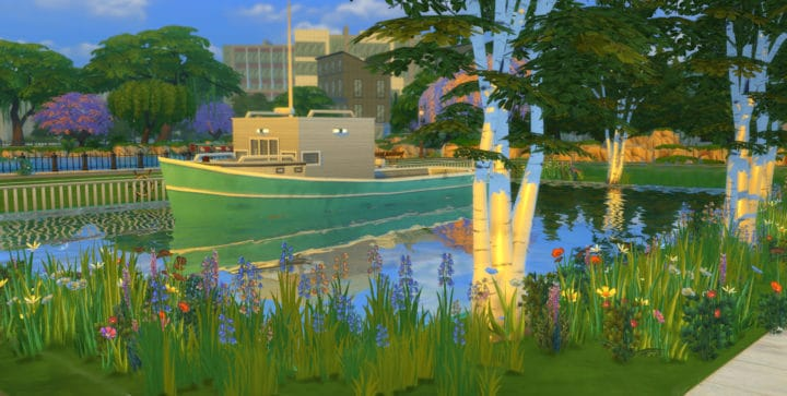 Houseboat Sims 4 Mod