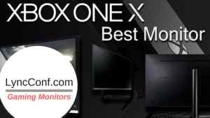 Best Gaming Monitors for Xbox One X