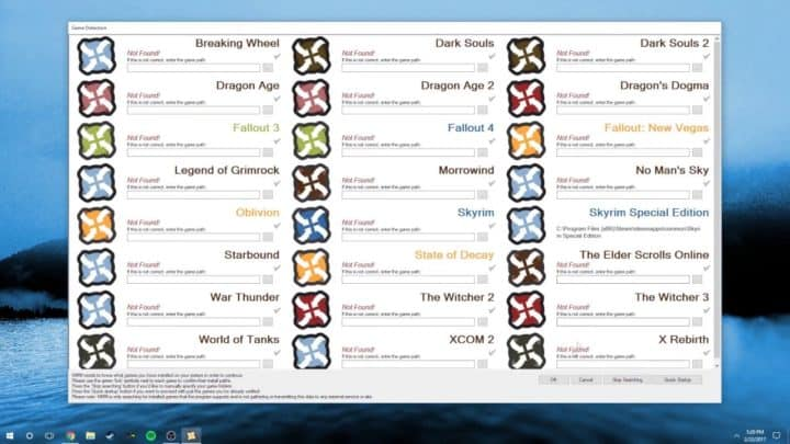 Oblivion Nexus Mod Manager