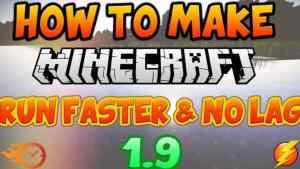 Make Minecraft Run Faster
