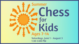 Chess for Kids @ Youth Services Department