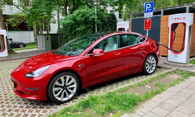 Spannend, met de Tesla Model 3 naar Noorwegen