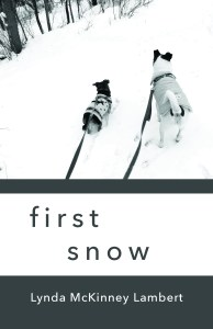 Cover of first snow - chapbook