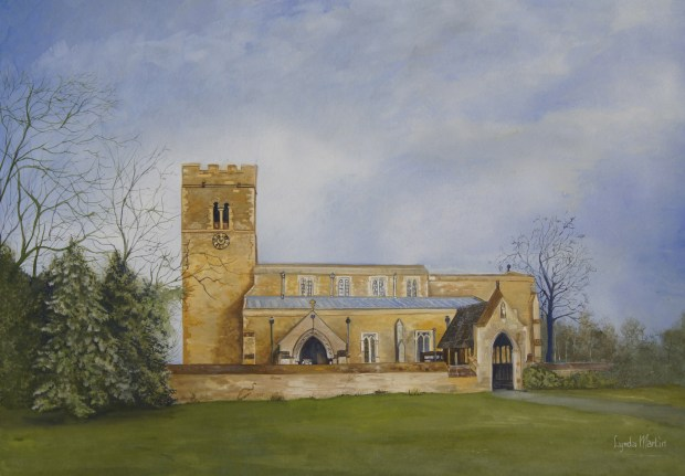 St Lawrence's Church Corringham Gainsborough, Lincs