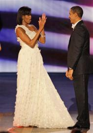 Michelle Obama's Inaugural Gown is Hitting by Storm!!!
