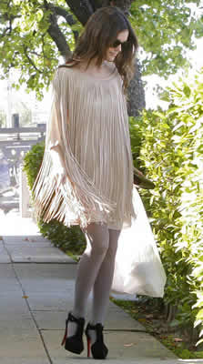 Fringe Fashion Dresses and Gowns for 2009
