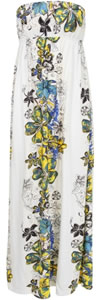 Tube Floral Summer Dress