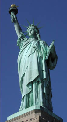 Statue of Liberty Garment, Fashion Critical! No, It's Safe!
