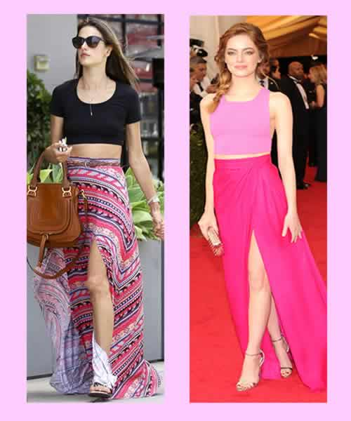 Celebrities Who Rock Crop Tops