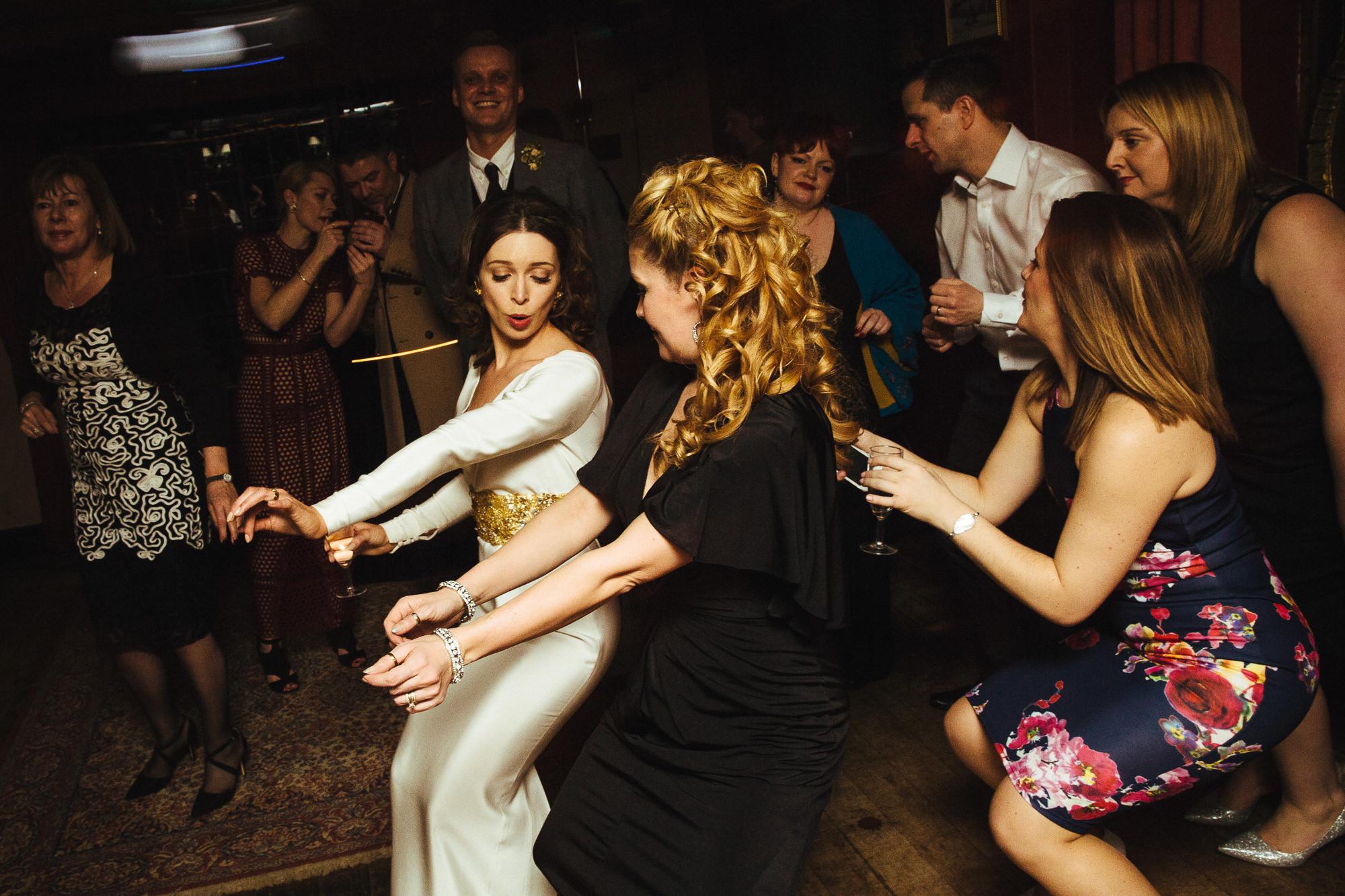 The George Inn wedding