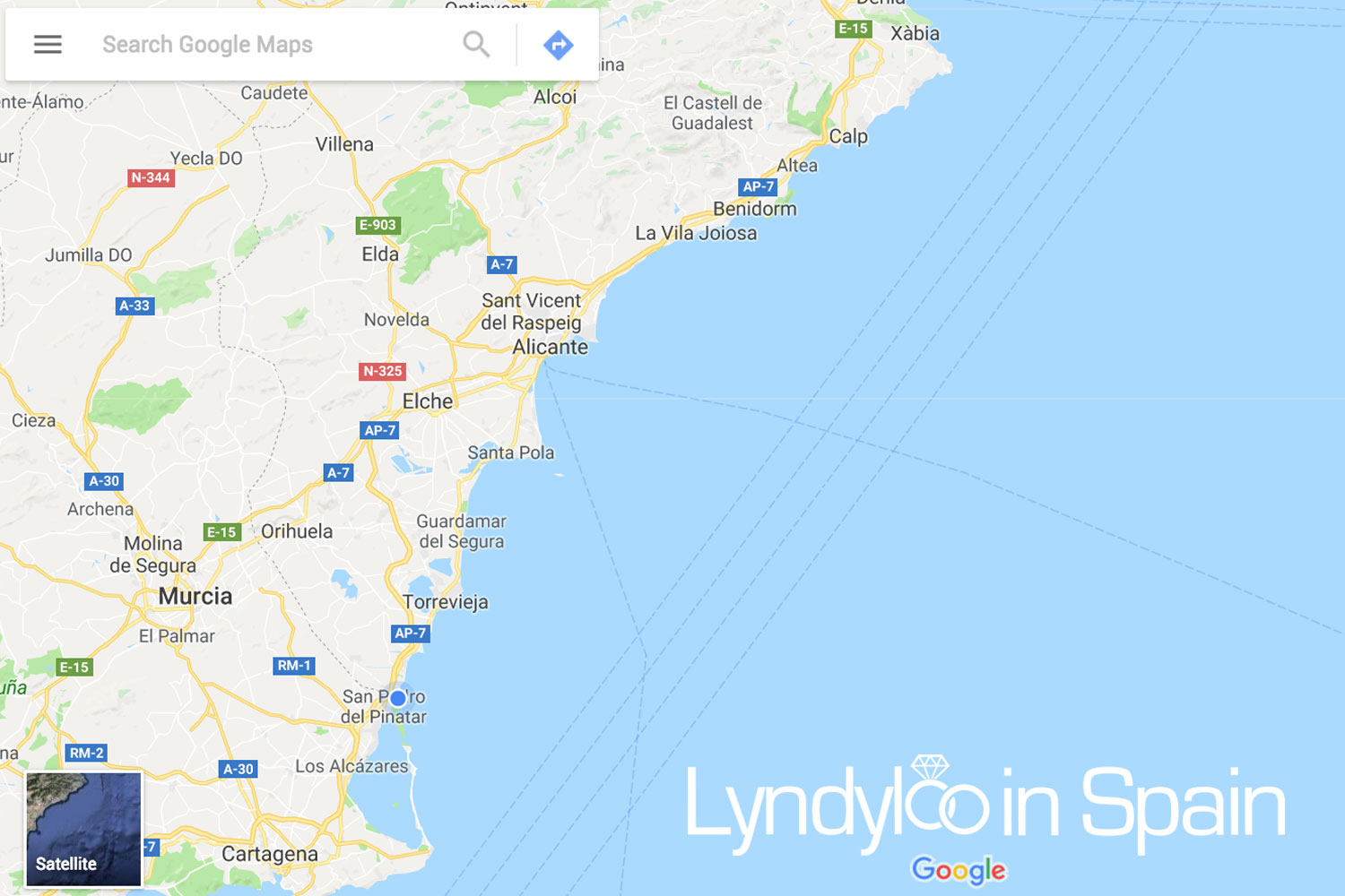 Map Of Spain La Manga.La Manga Weddings Lyndyloo In Spain